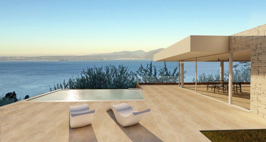 Torri del Benaco: Villa moderna con vista da sogno sul Lago di Garda