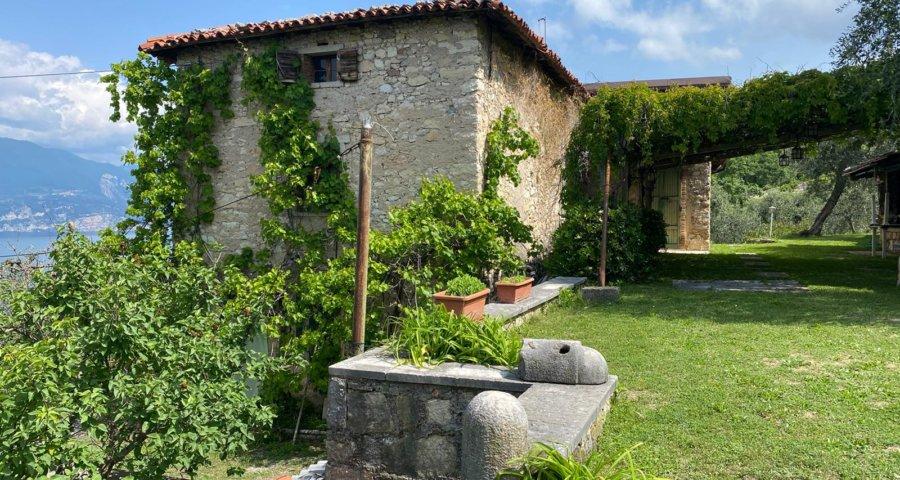 Torri del Benaco: Rustico mit Blick über den Gardasee