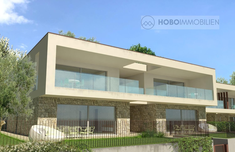 Lazise: appartamenti di nuova costruzione con vista lago
